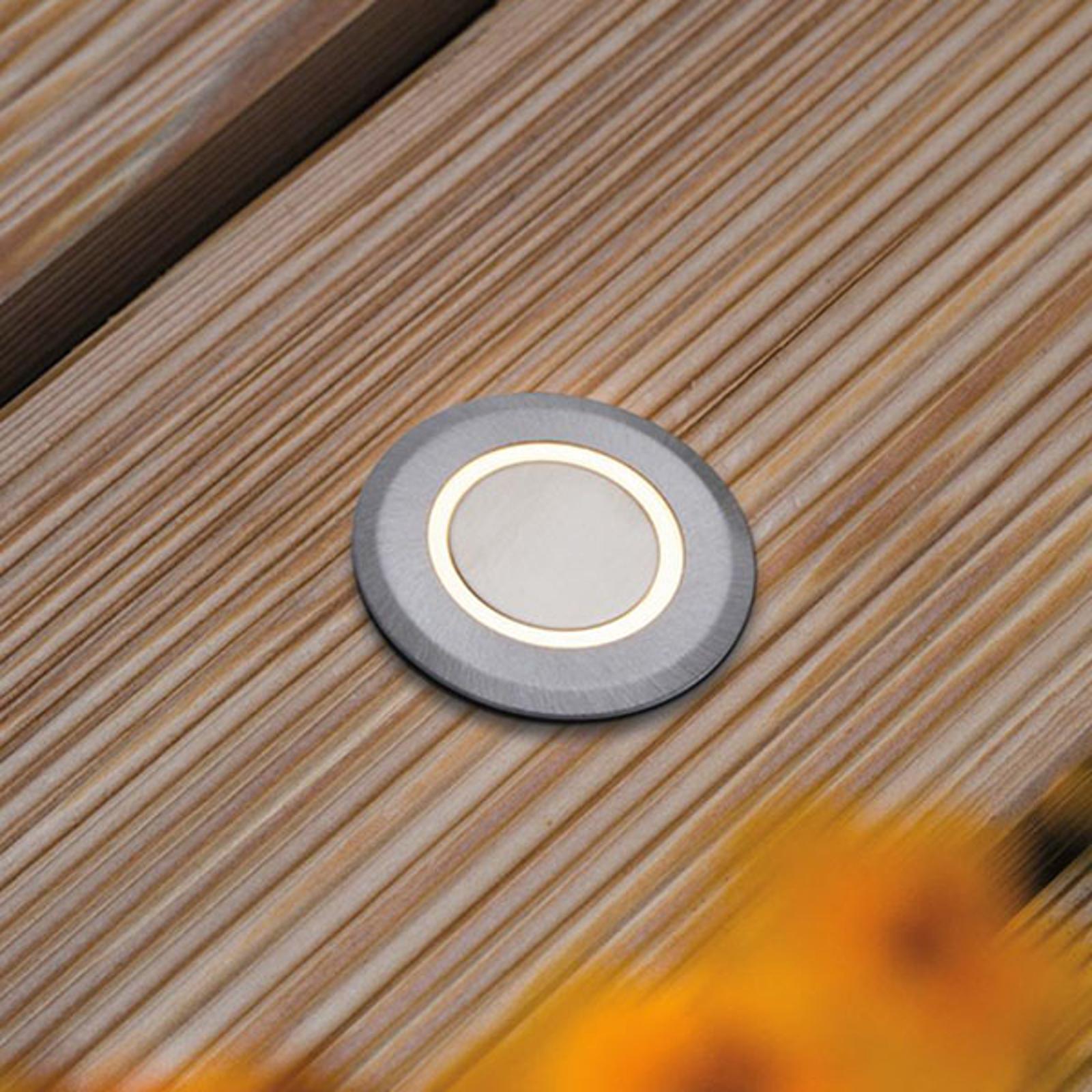 Paulmann House podlahové světlo IP65 kulaté kruh
