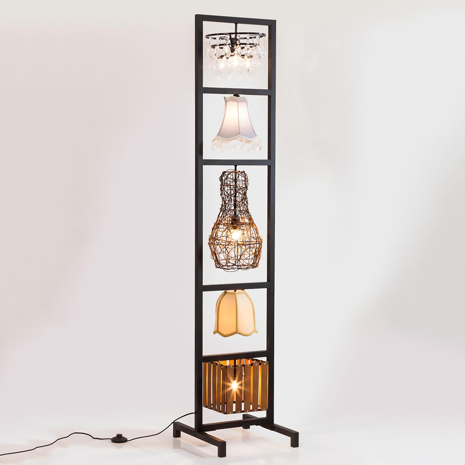 Wspaniała lampa stojąca Parecchi Art House