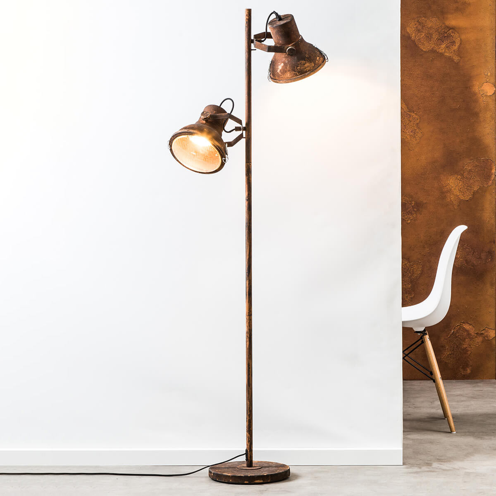 2-Punktowa lampa stojąca Frodo
