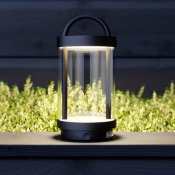 Lucande Caius lampada LED decorativa da esterni