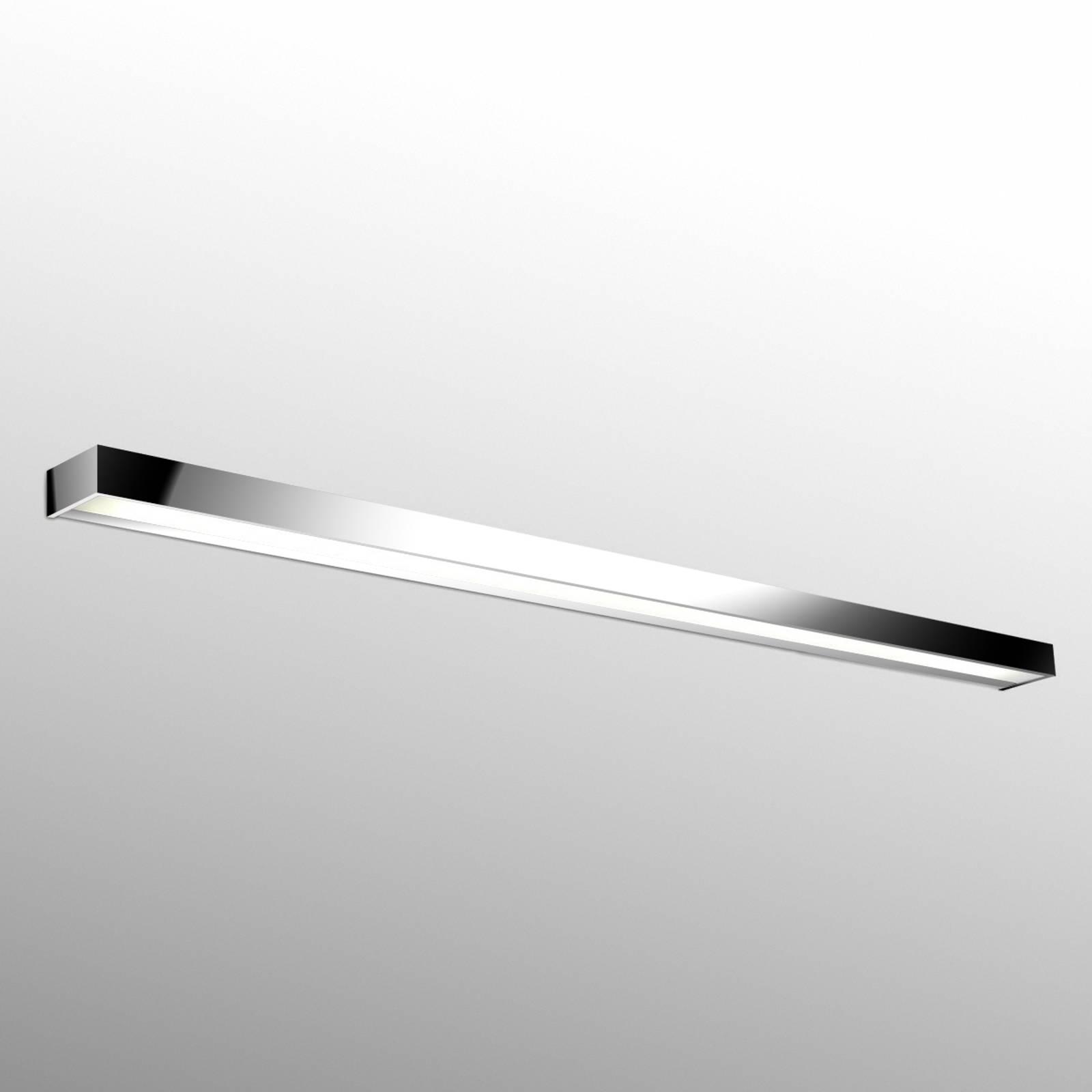 Hervorragende LED-Wandleuchte Apolo, 150cm chrom