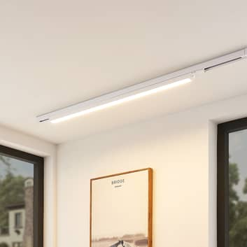 Arcchio Harlow LED-skenlampa, vit, 109 cm