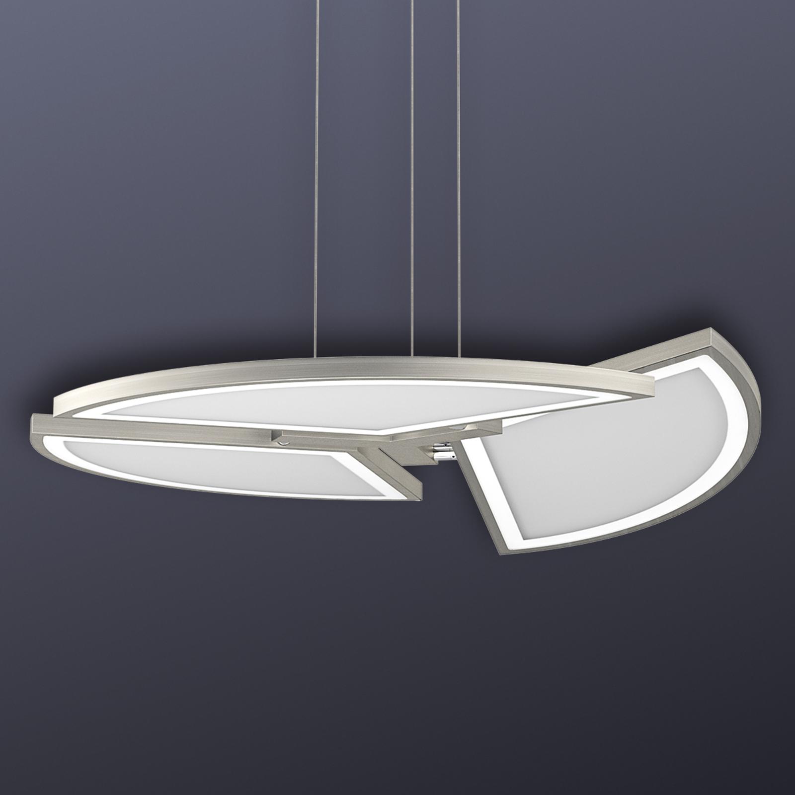 LED-pendellampe Movil med fleksibel innstilling