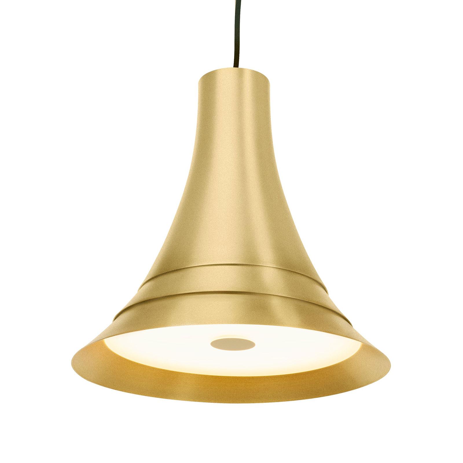 SLV Bato 35 lampa wisząca LED mosiądz Ø35cm