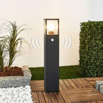 Klemens gadelampe med bevægelsessensor 65 cm