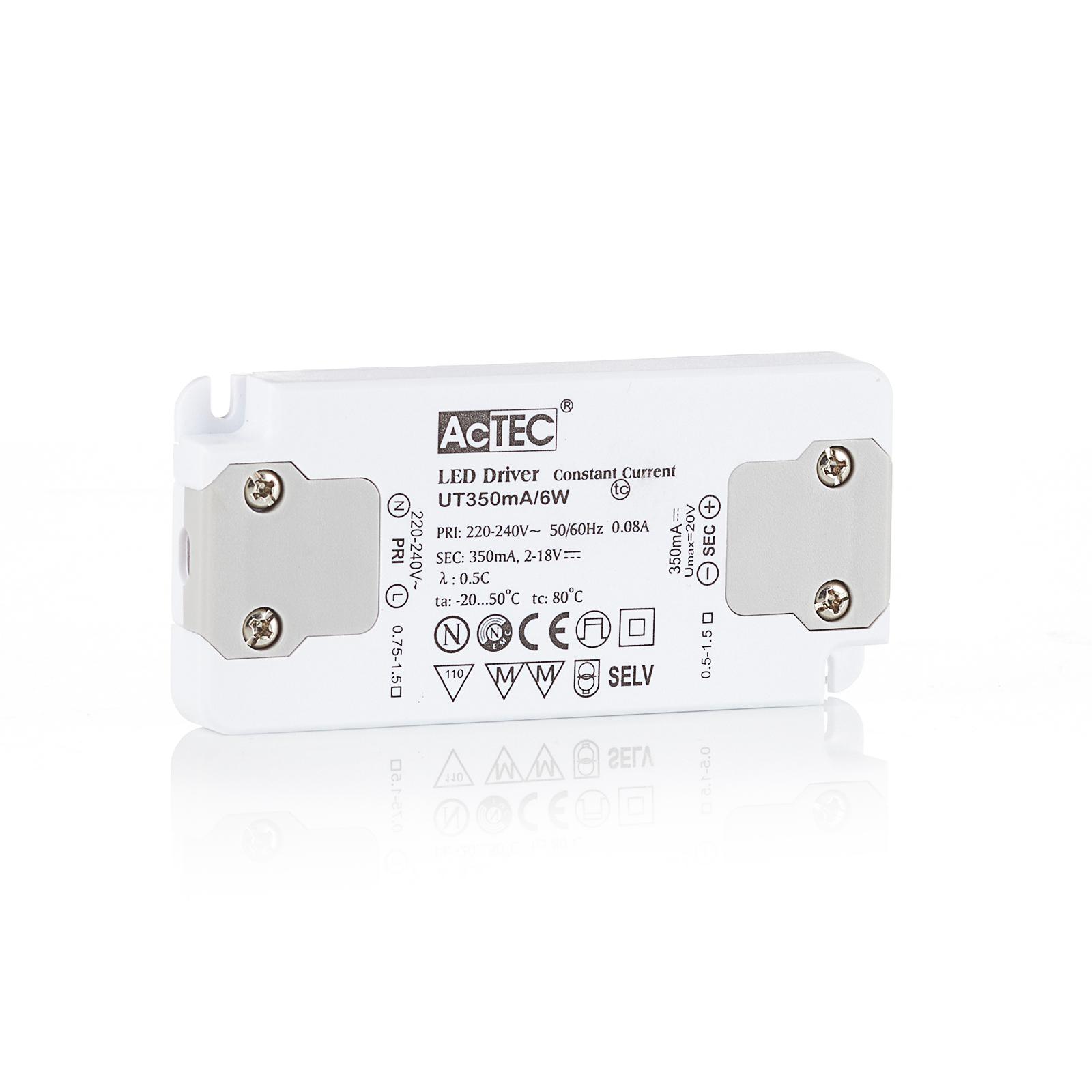 AcTEC Slim LED-drivare CC 350mA, 6W