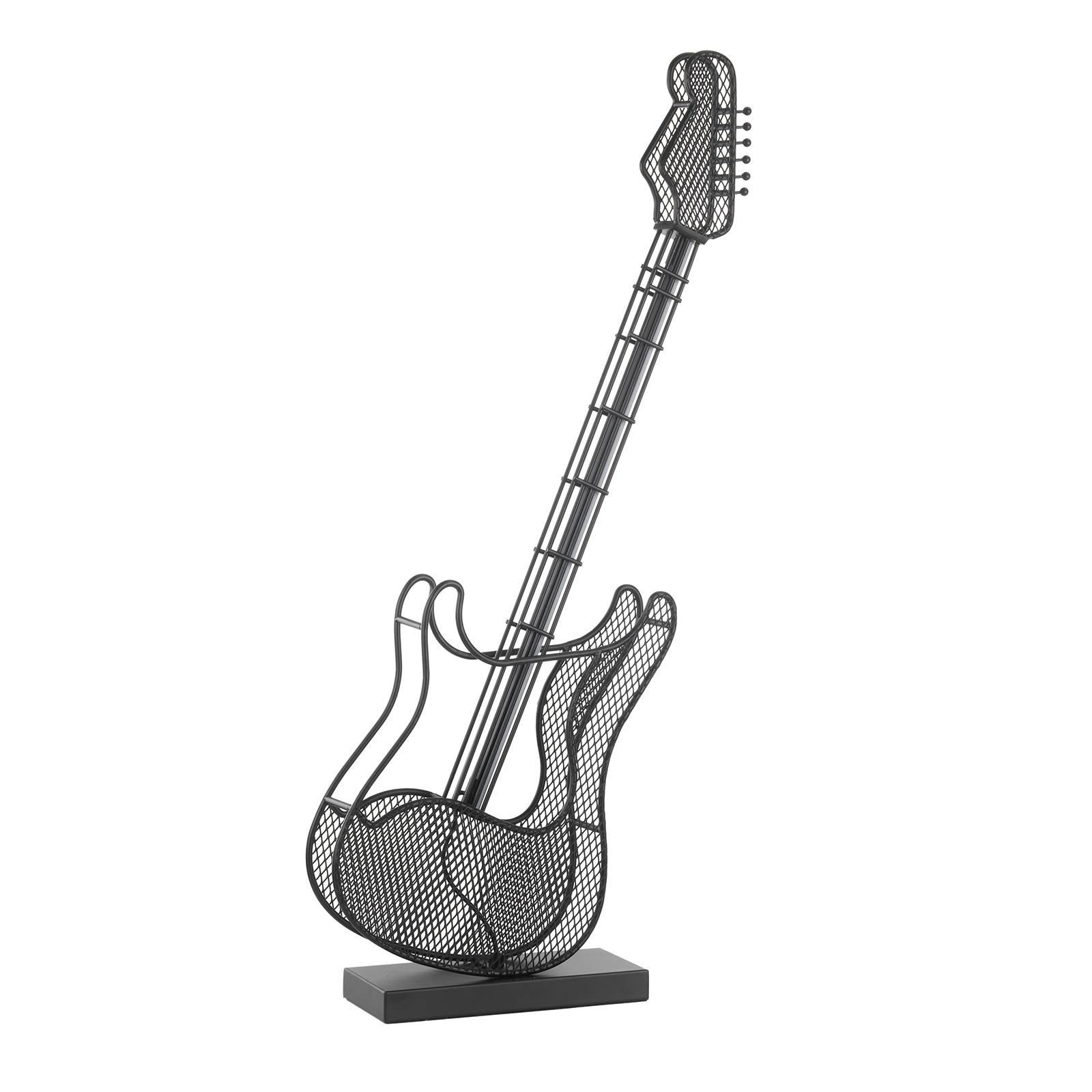 LED-Stehleuchte Rock in Form einer Gitarre