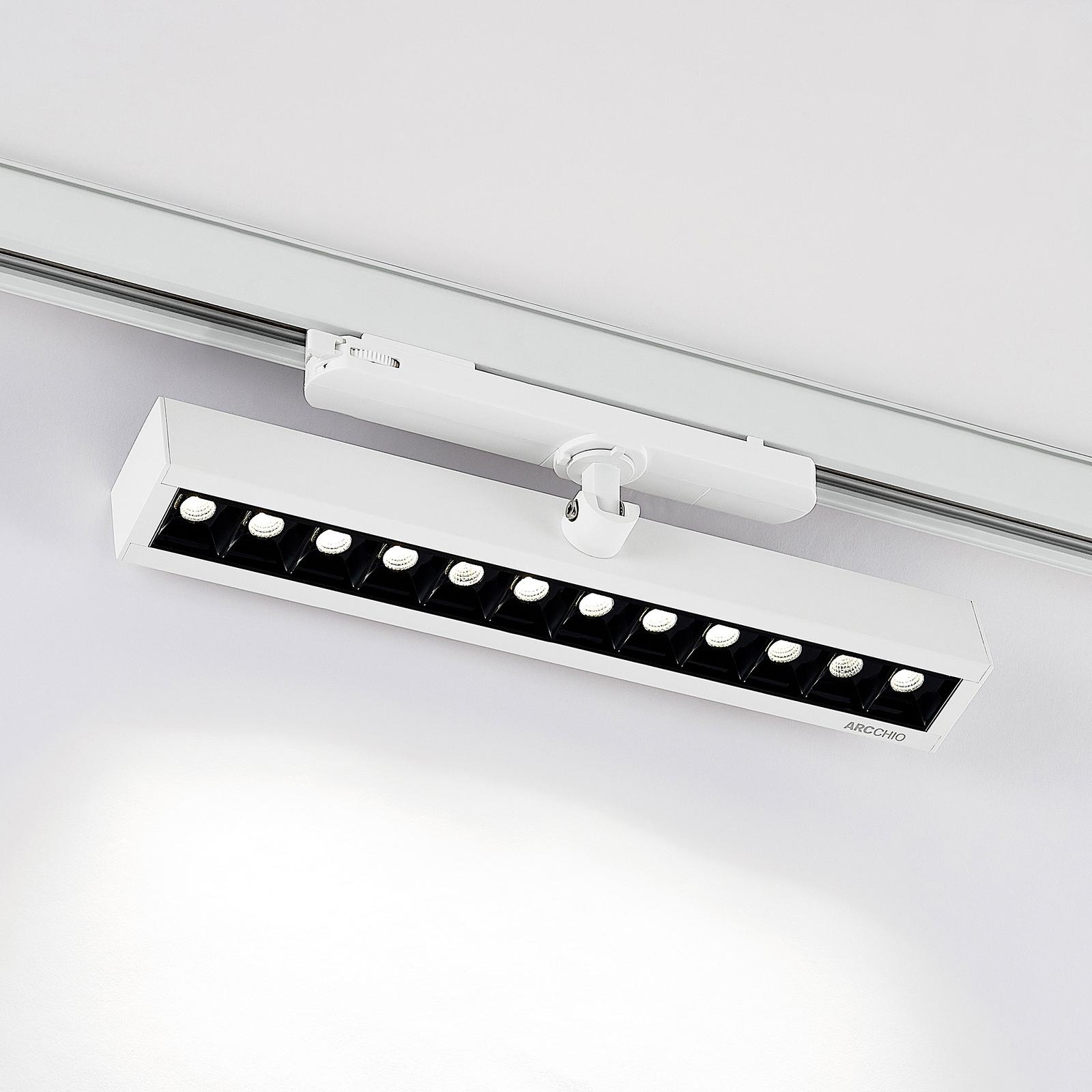 Arcchio Millay LED-Schienenstrahler weiß 4000K