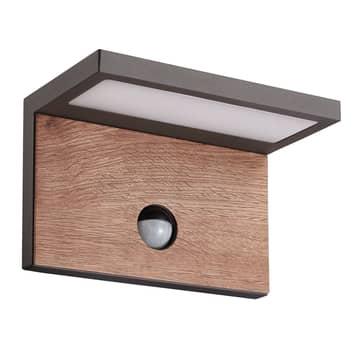 Aplique exterior LED Ruka, detector de movimiento