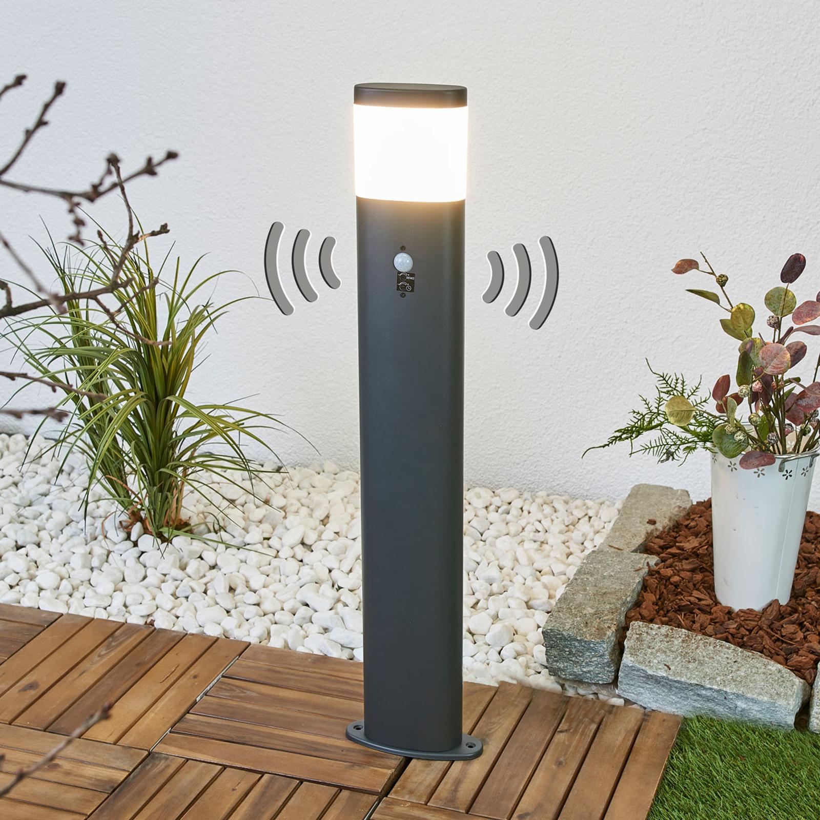 Słupek ogrodowy LED Marius z czujnikiem ruchu