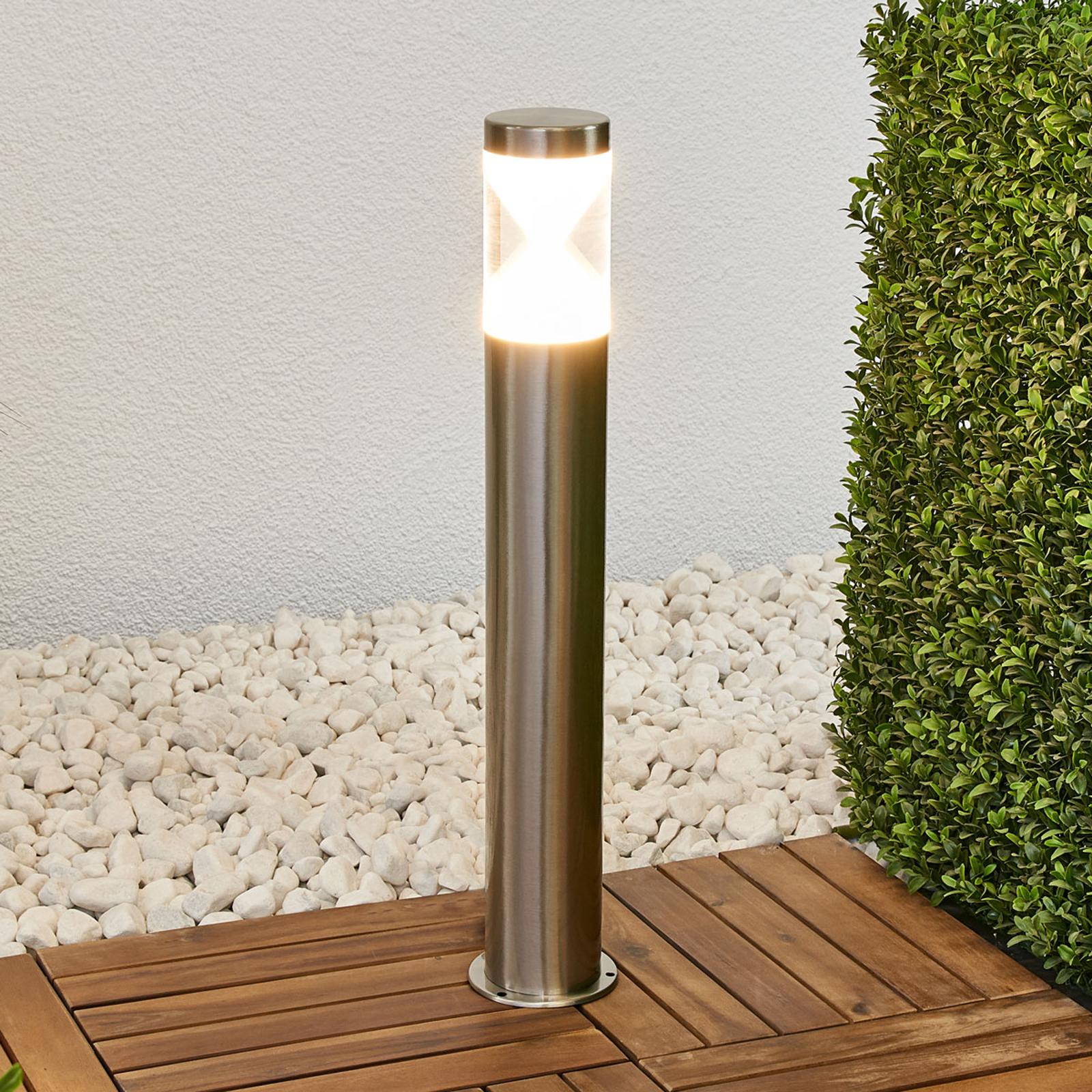 Fabrizio - LED-veilampe av rustfritt stål