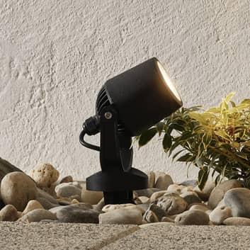 Spießlampe Minitommy 1-flammig CCT schwarz/frosted