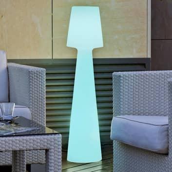 Newgarden Lola -LED-lattiavalo, akkukäyttöinen