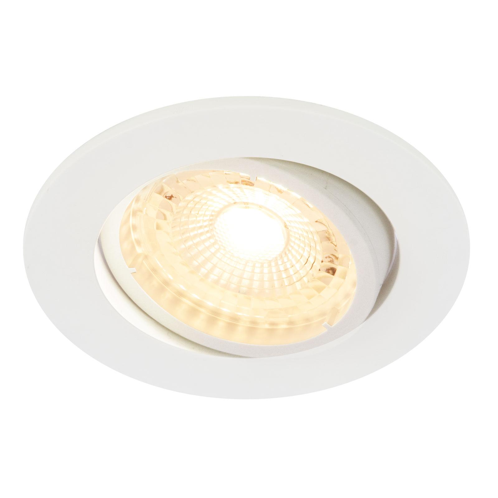 LED inbouwspot Octans 2.700K 3per set, wit