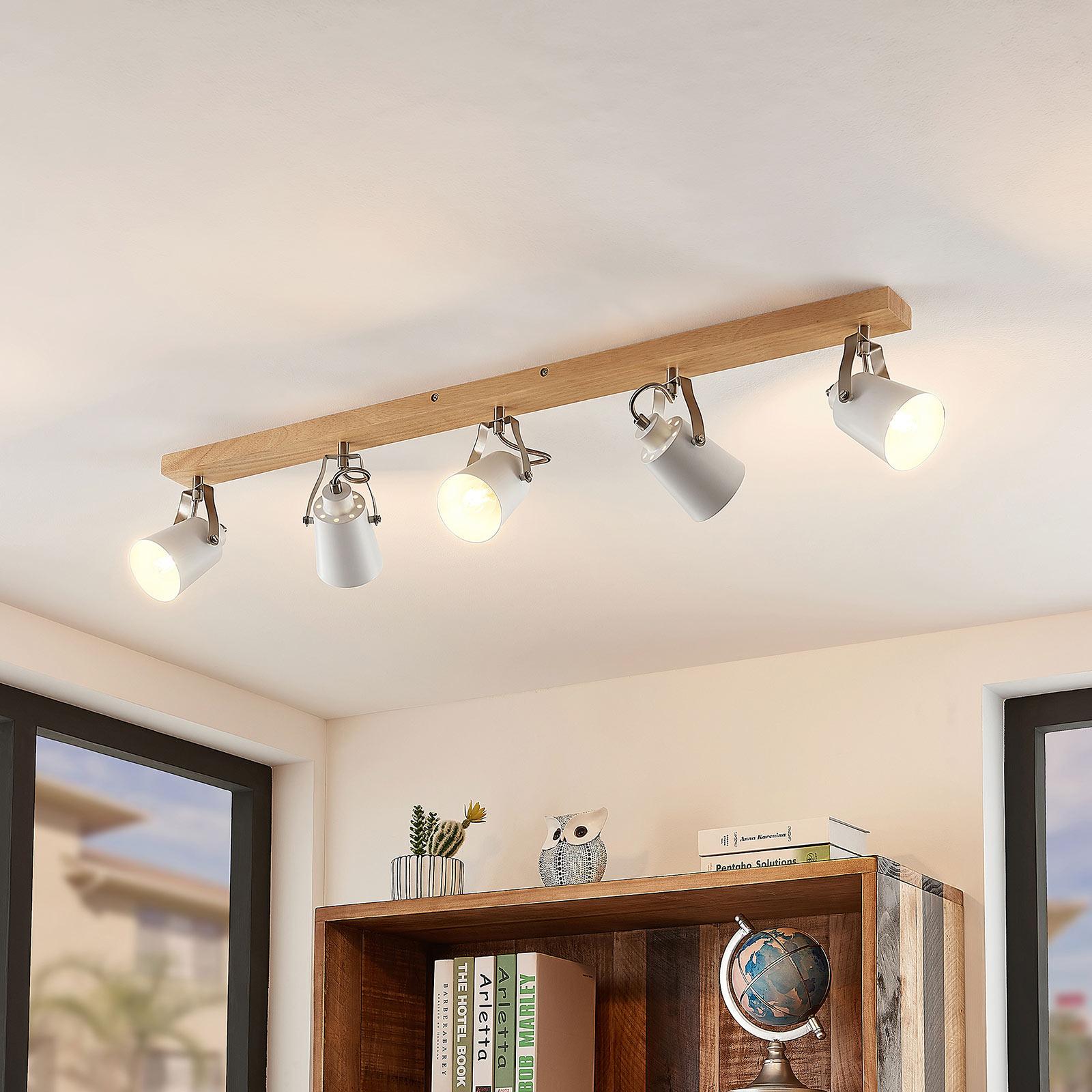 Lindby Blana loftlampe, 5 lyskilder