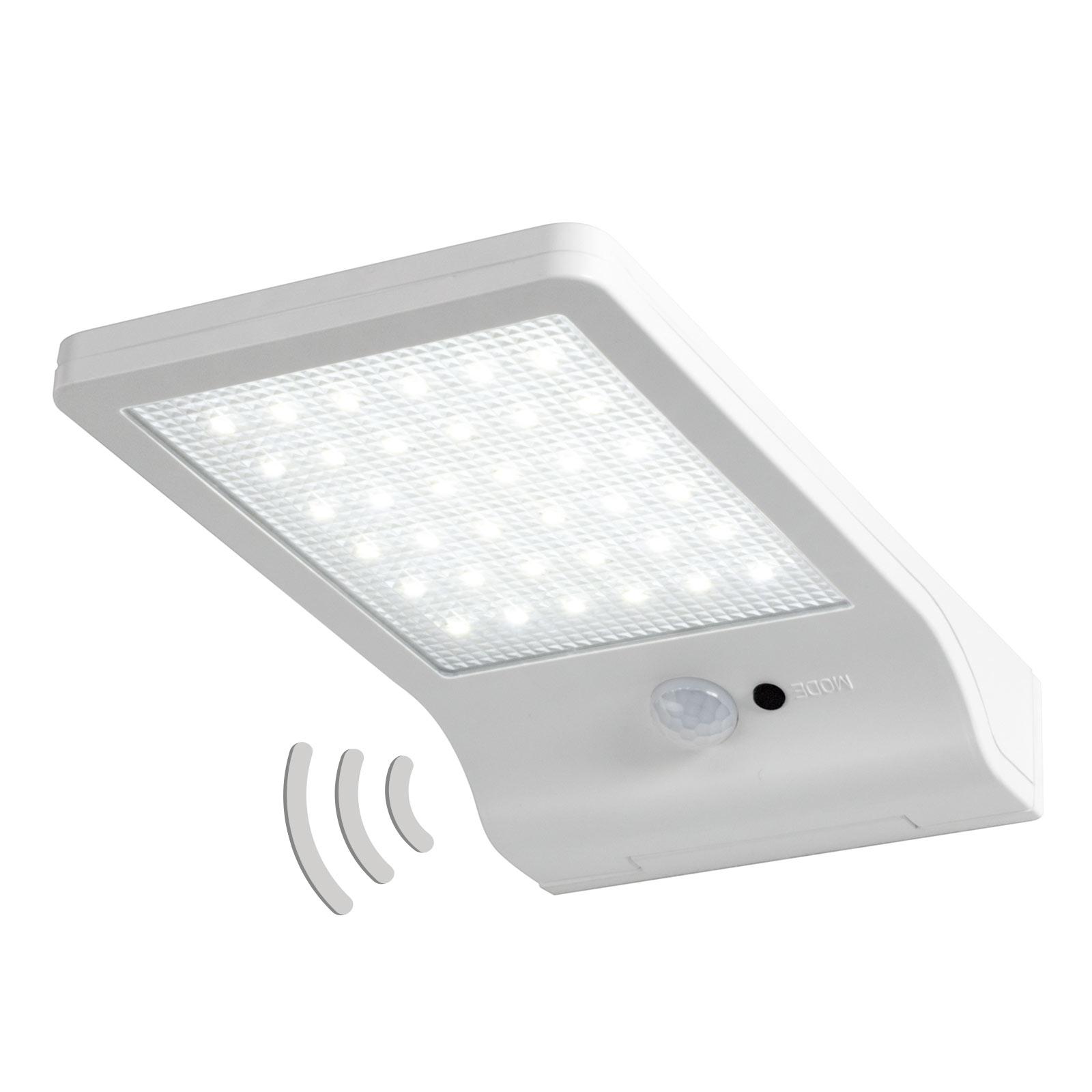 LEDVANCE DoorLED solarna lampa ścienna LED biała