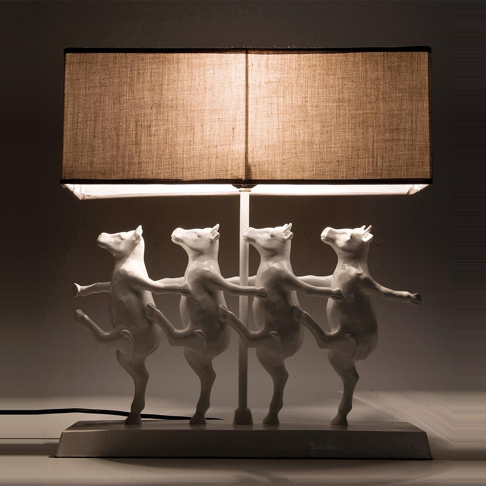 Divertente lampada da tavolo DANCING COWS
