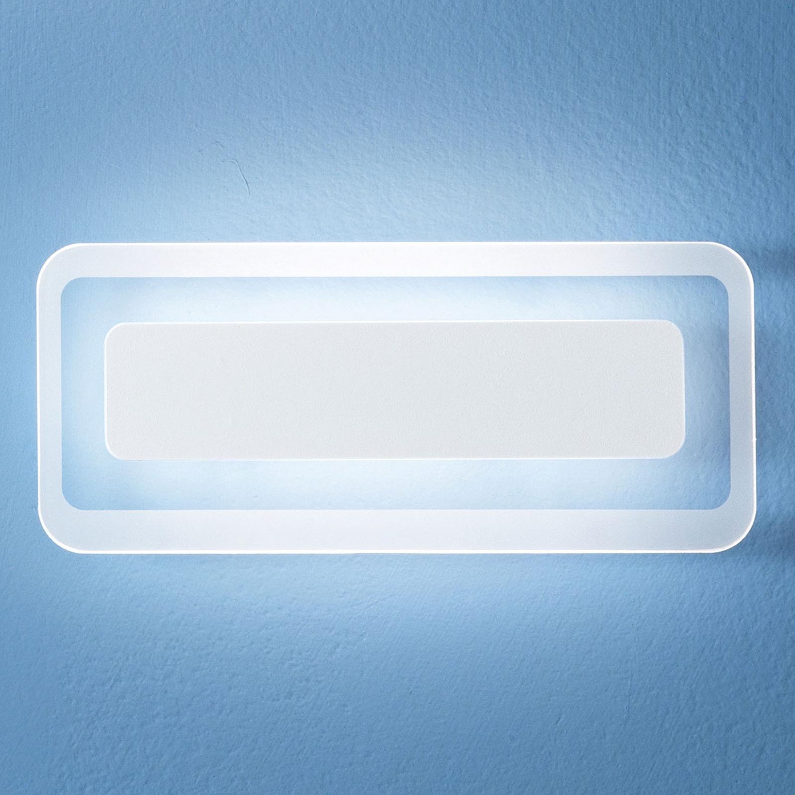 LED wandlamp Antille wit 31,4 cm