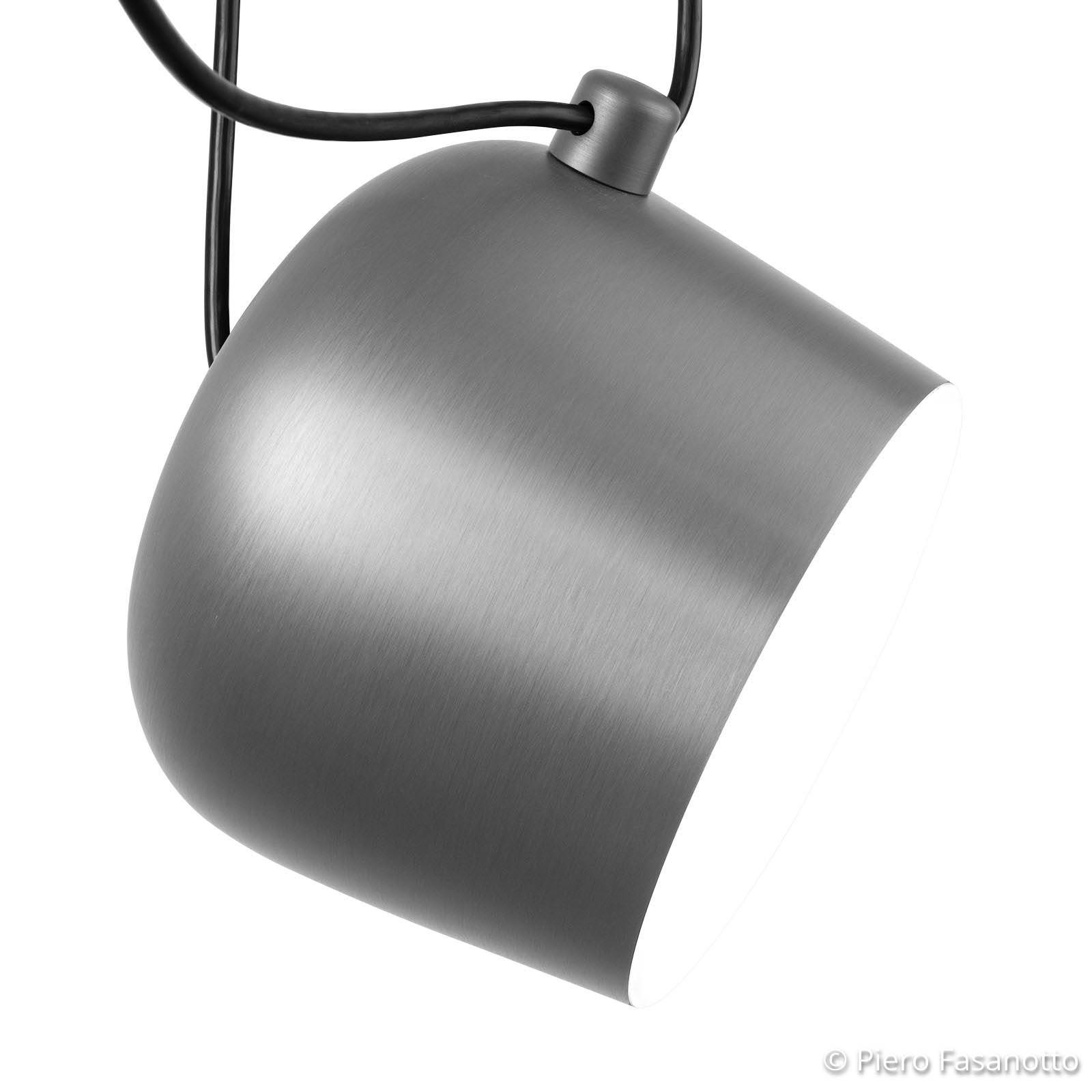 FLOS Aim LED-Pendelleuchte light silver eloxiert