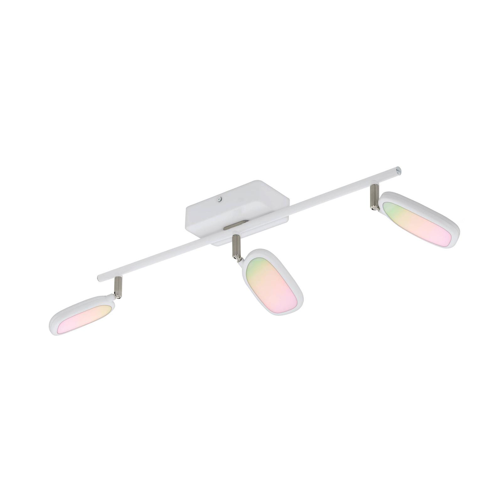 EGLO connect Palombare-C LED-loftspot, 3 lyskilder