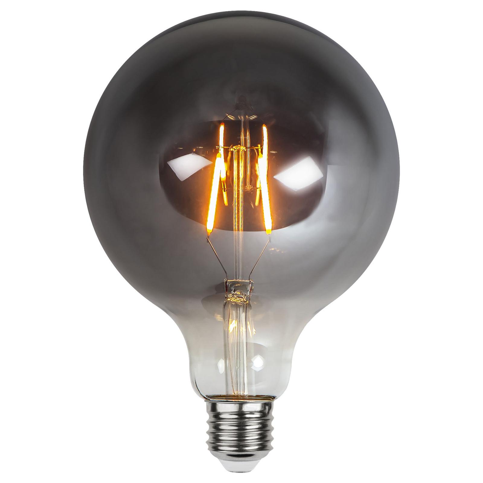LED-Globelampe E27 1,8W Plain Smoke 2.100K Ø 125mm