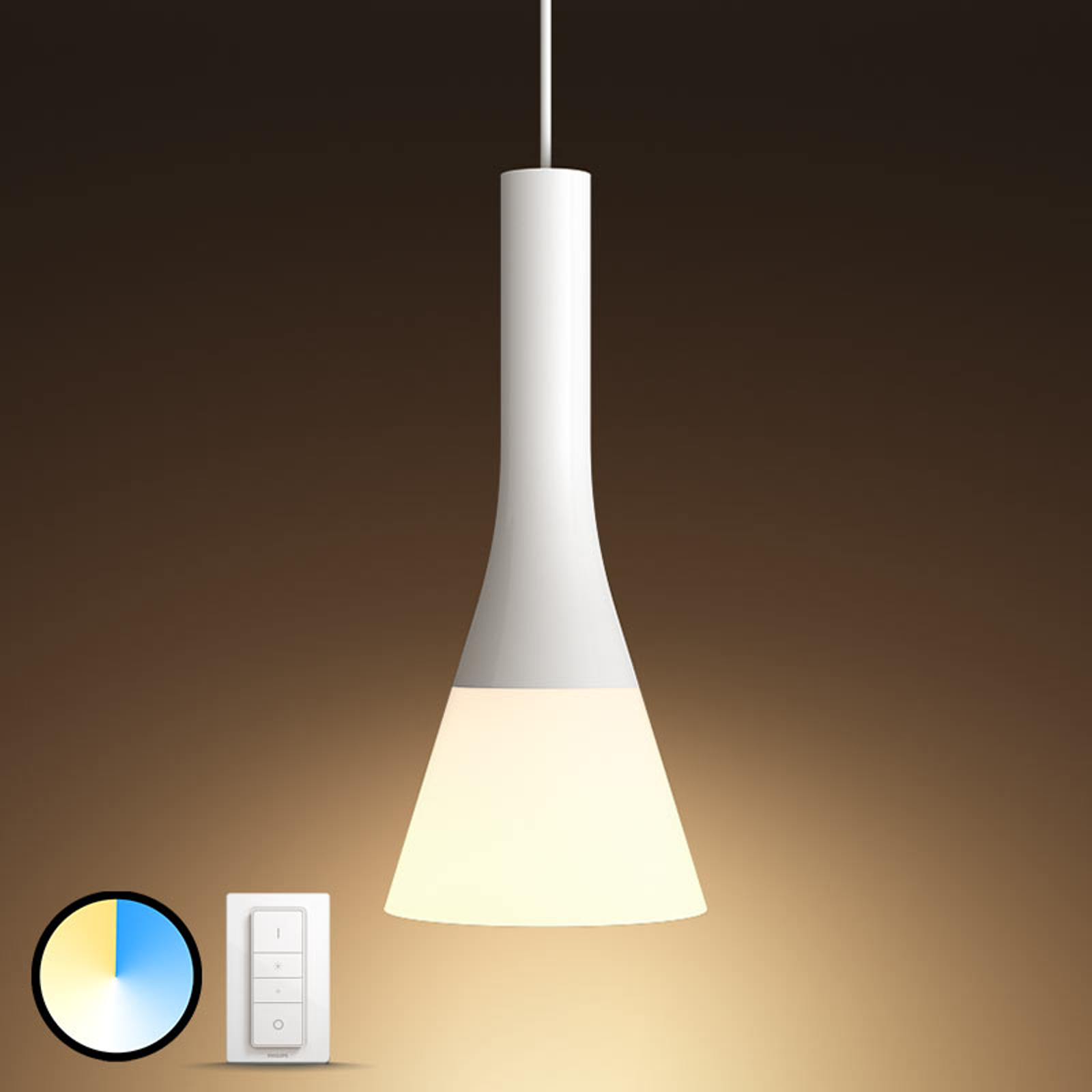 Philips Hue White Ambiance lampa wisząca