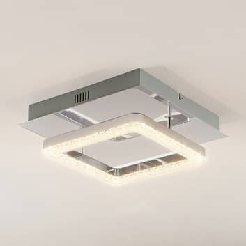 Lindby Charleen plafoniera LED cromata