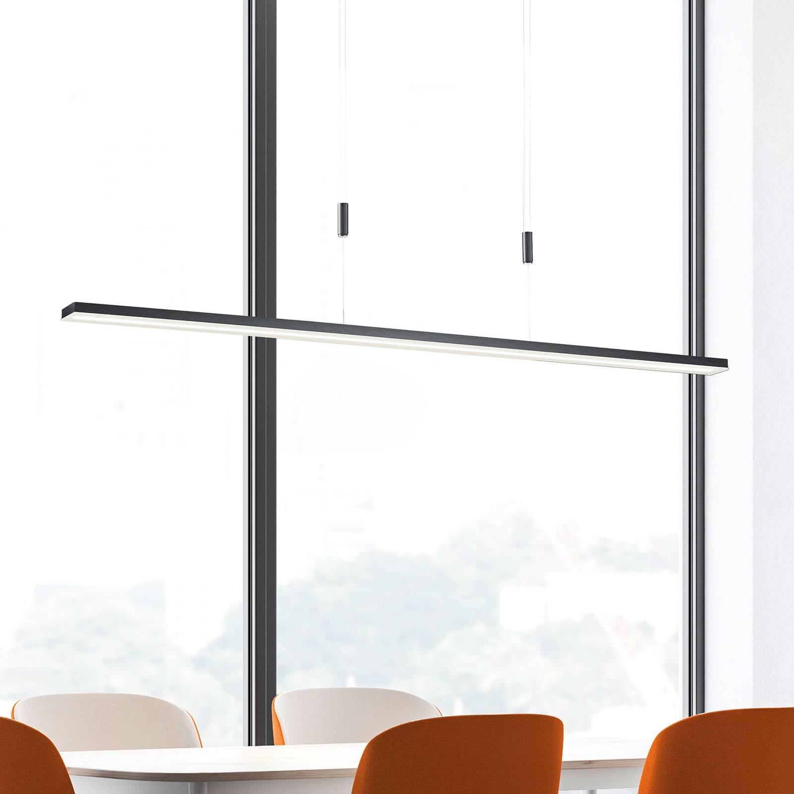 Bopp Baseline LED-Hängeleuchte, aluminium