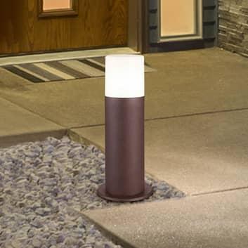 Sokkellamp Hoosic van drukgegoten aluminium