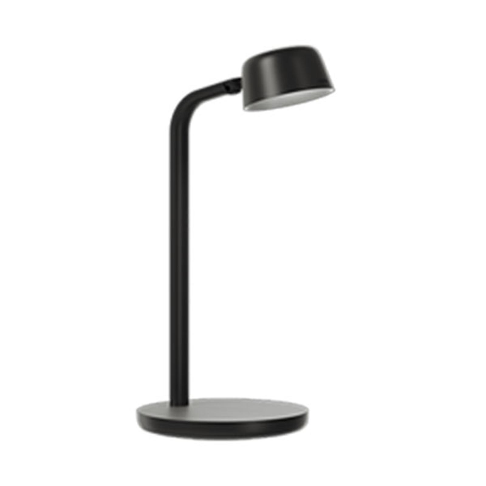 LED-Tischleuchte Motus Mini, dim to warm, schwarz