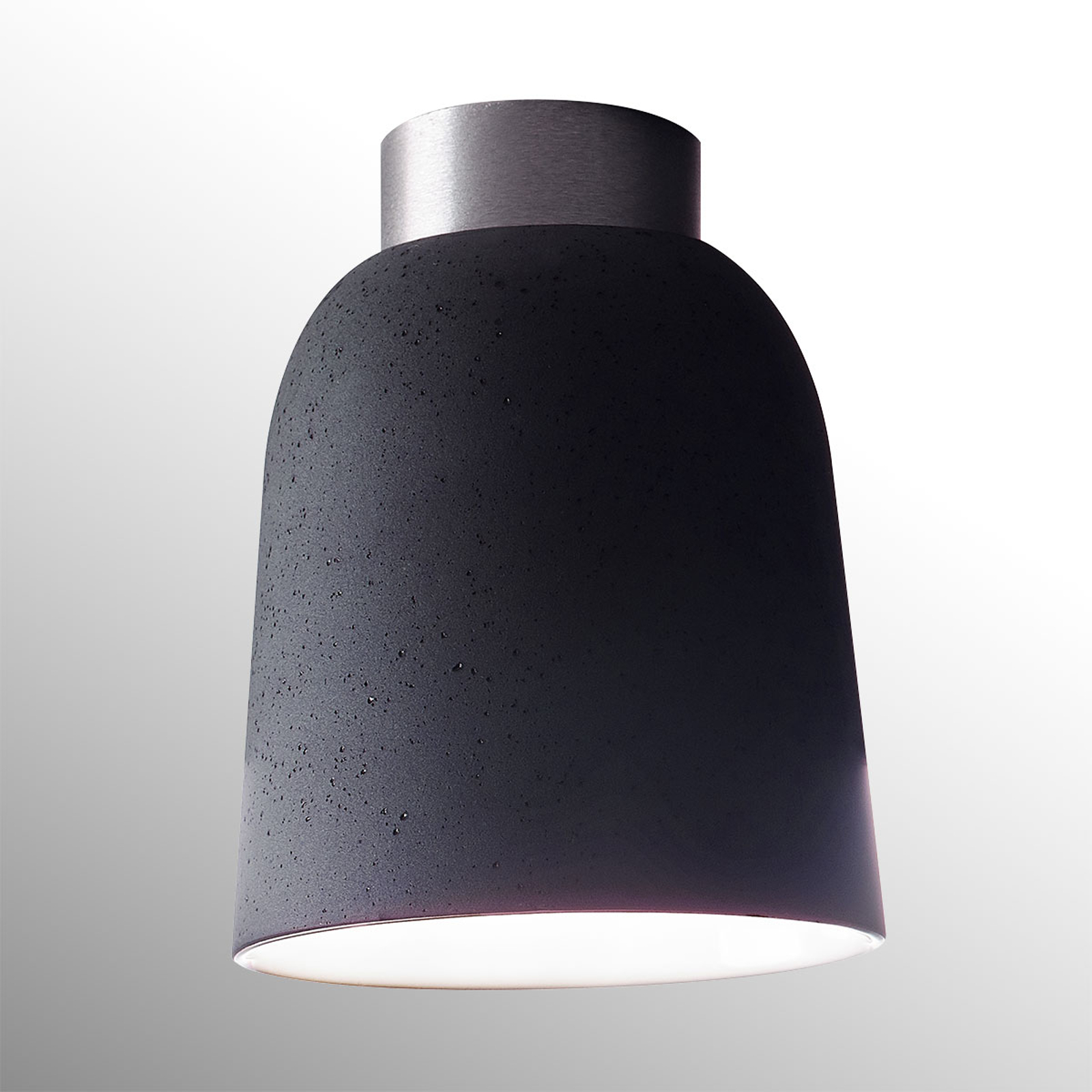 Casablanca Clavio ceramiczna lampa sufitowa, szara