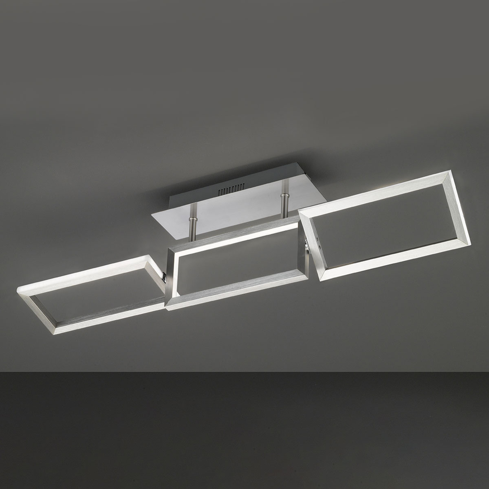 LED-Deckenleuchte Skip, ausrichtbar, Länge 81,5 cm