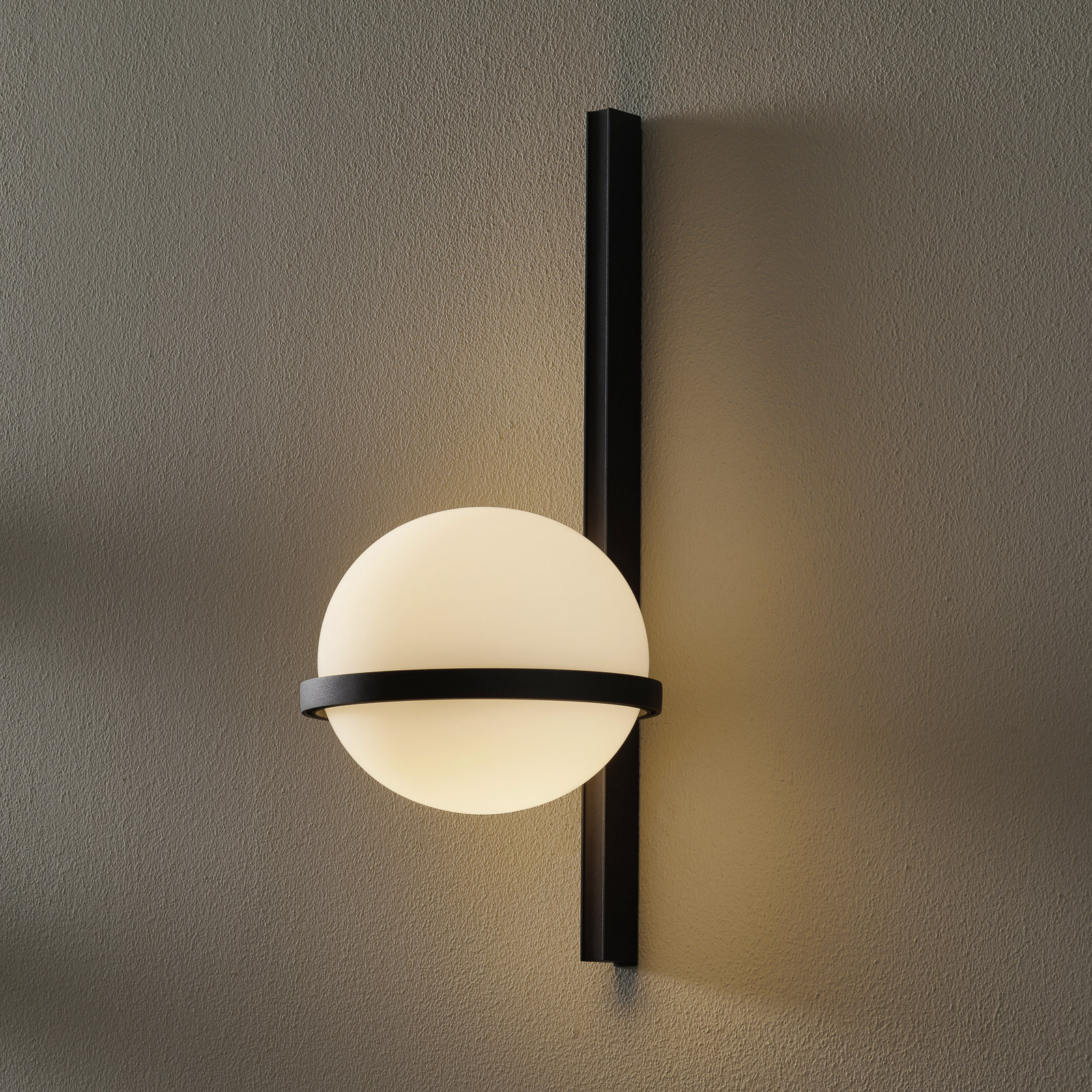 Vibia Palma 3710 applique LED, graphite