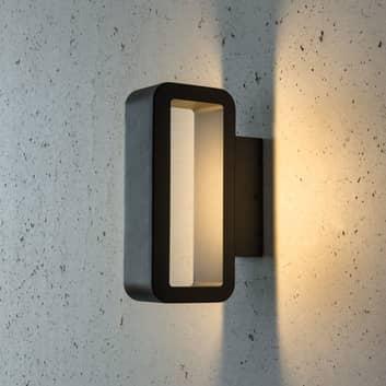 Rettformet utendørs LED-vegglampe Juno