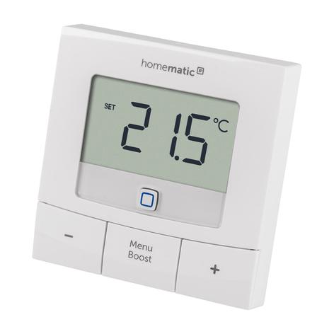 Homematic IP termostato a parete basic