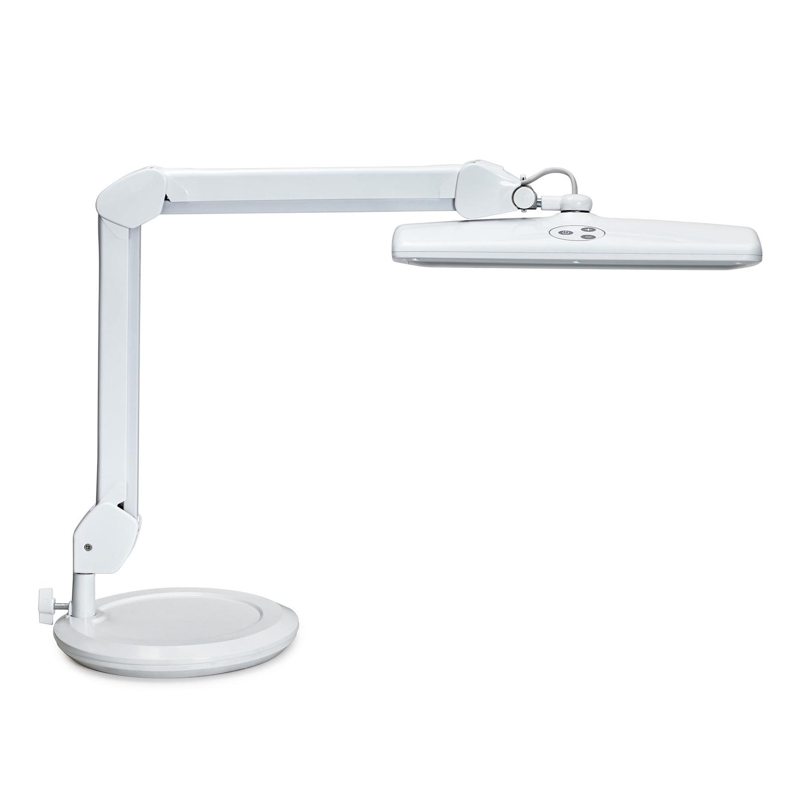 LED-Arbeitsplatzleuchte MAULintro mit Standfuß
