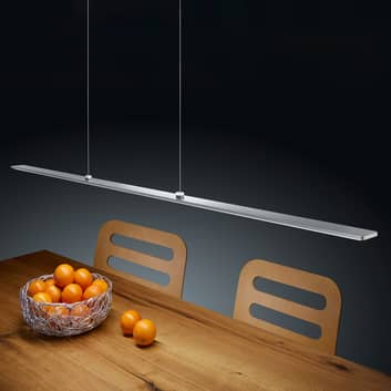 Helestra Lexx LED-hængelampe, mat nikkel EasyLift