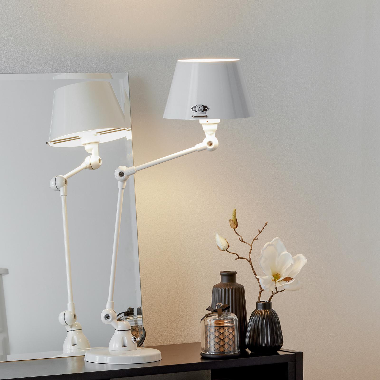 Jieldé Aicler AID373 tafellamp, wit