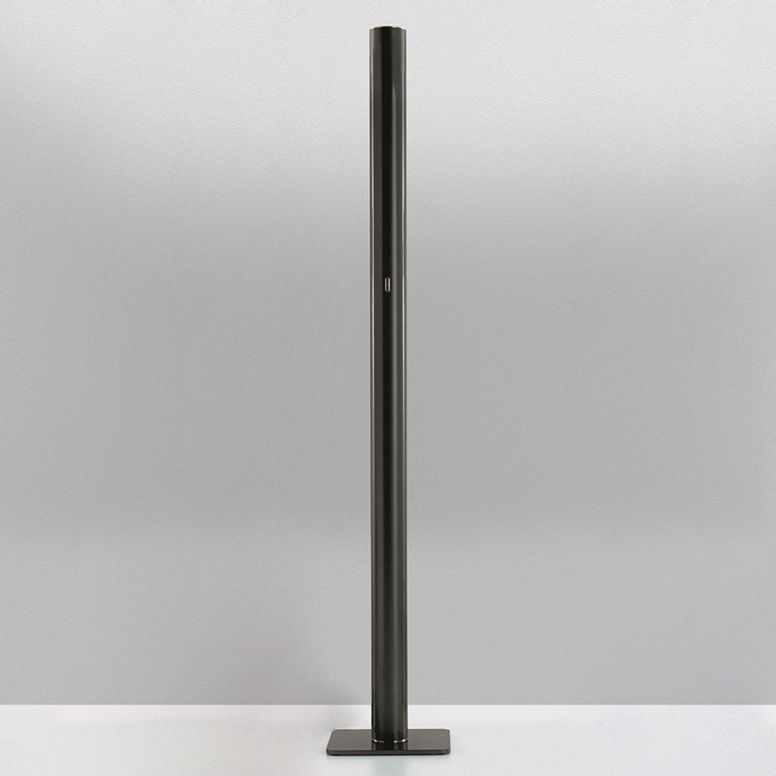 Artemide Ilio – LED-golvlampa, app, svart, 2 700 K