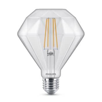 Philips Classic Diamond LED-pære E27 5 W