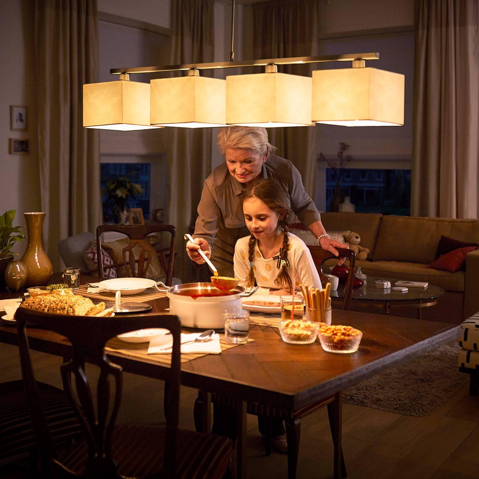 Philips SceneSwitch E14 LED candela 4,3W filamenti