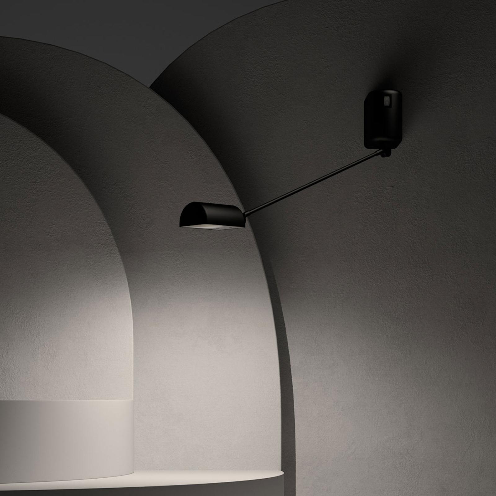 Lumina Daphine applique LED 3.000K 35cm nero