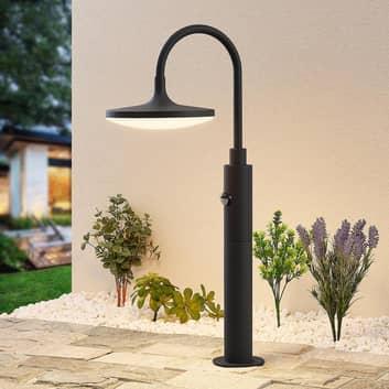Arcchio Fineria LED-sockellampa med sensor