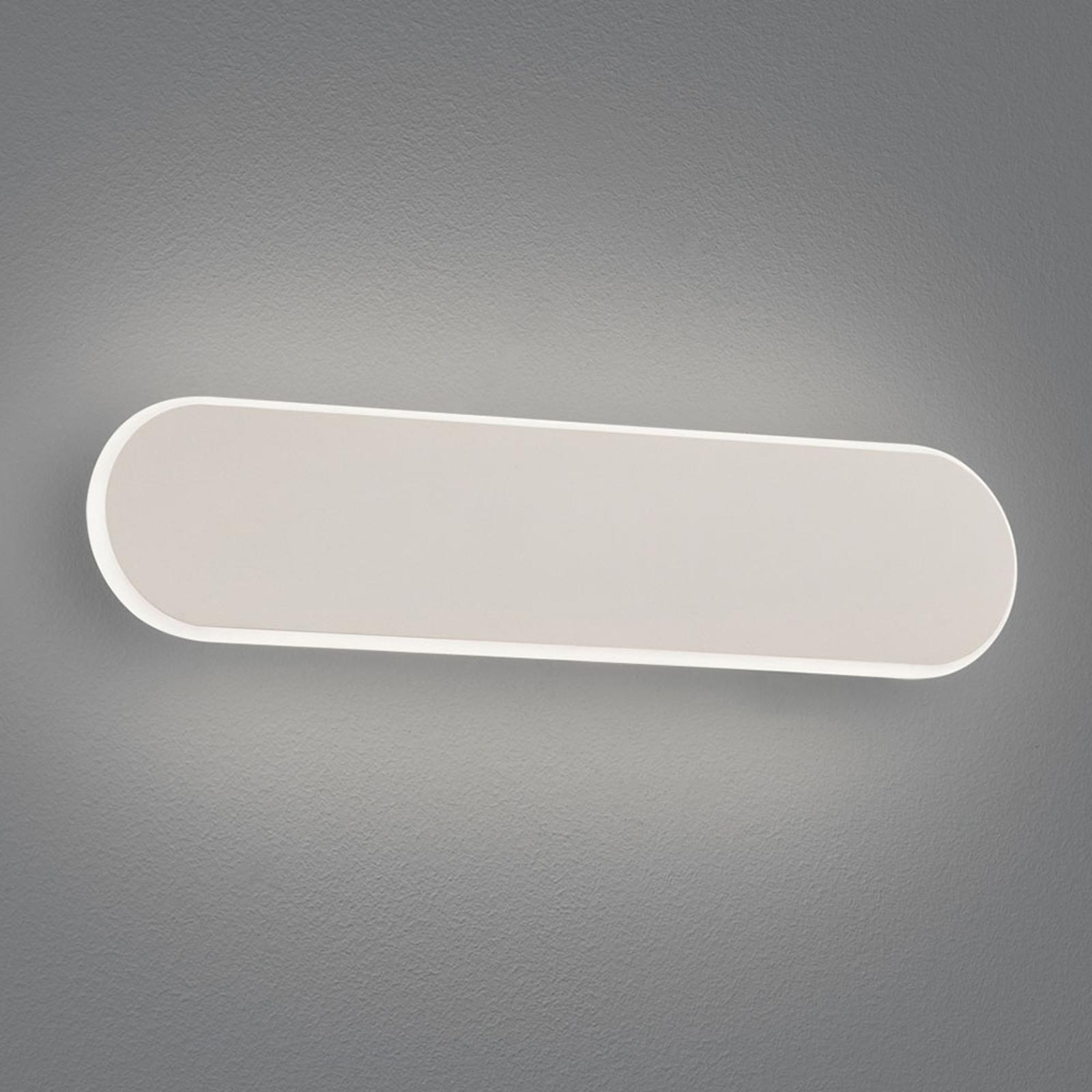 LED-vegglampe Carlo, Switchdim, 35 cm, hvit