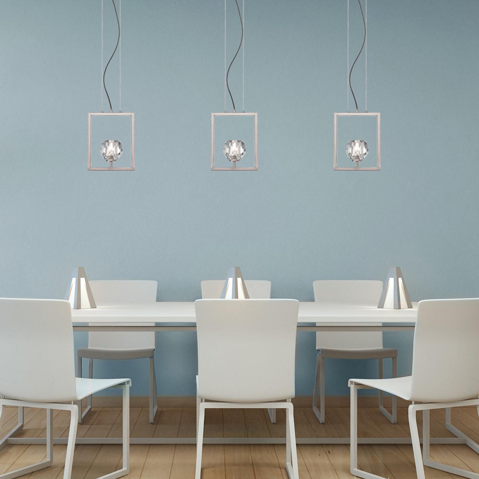 Westinghouse Zoa hanglamp, nikkel