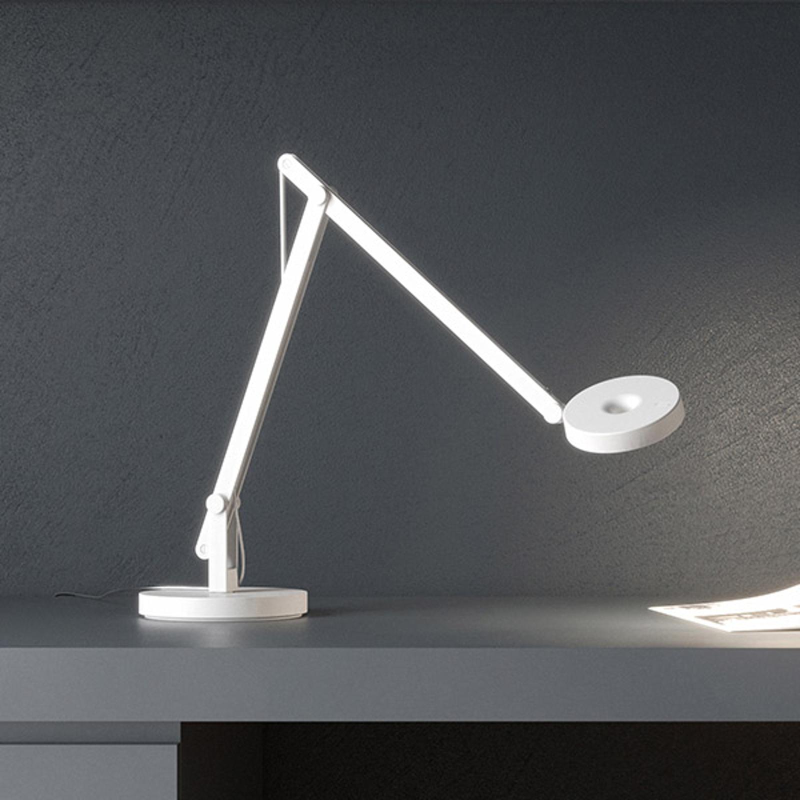 Rotaliana String T1 Mini LED-Tisch weiß, silber