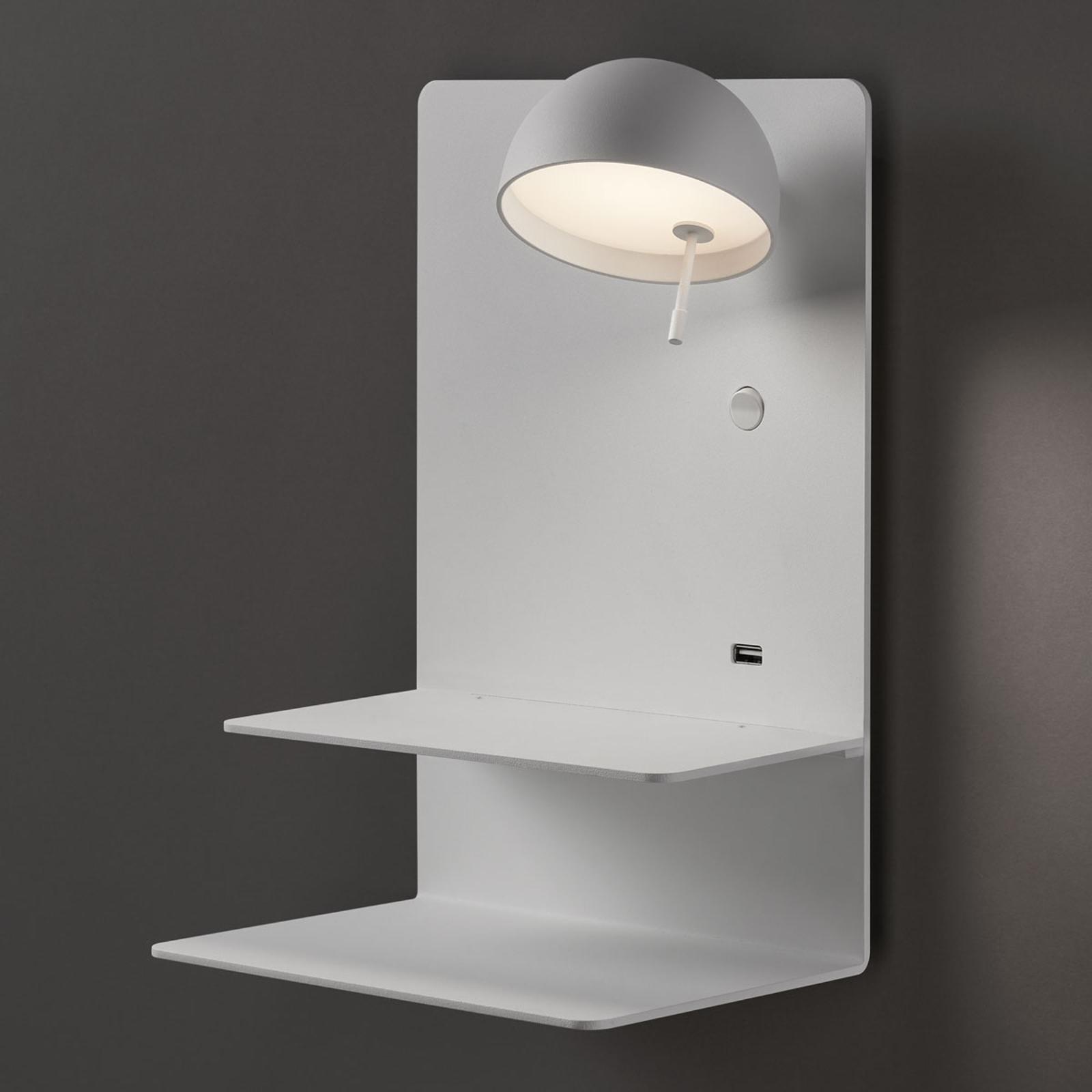 Bover Beddy A/04 LED-taklampe hvit spot høyre