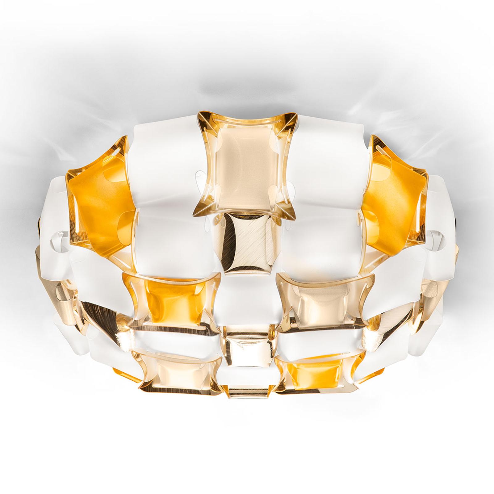 Slamp Mida plafondlamp, 50 cm amber