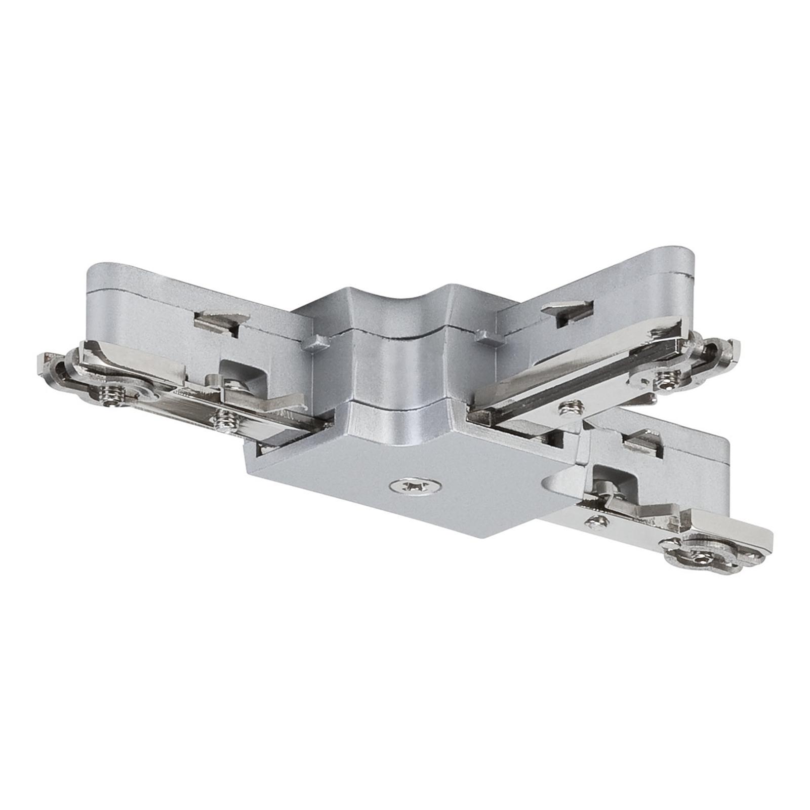 Paulmann URail T-konnektor, mat krom