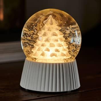 Palla LED Cilja con effetto nevicata